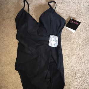Black bathing suit
